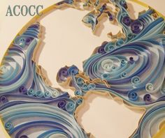 A Can of Crafty Curiosities: Quiller Ocean Currents...