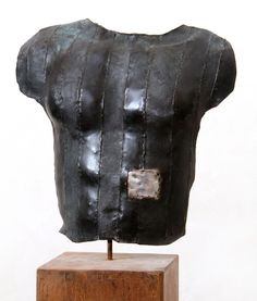 Sculpture Buste bronze/aluminium Dimension : h 60cm l 50cm  Laurent Inquimbert