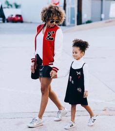 Fall in love with family street style