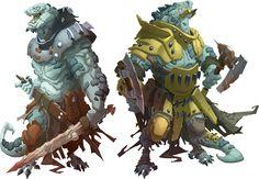 Reptisaurian Warriors