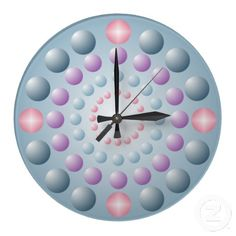 Customizable Pink clocks from Zazzle. Choose a pre-existing design for your wall clock or create your own today! Polka Dot Walls, Polka Dots, Pink Wall Clocks, Pink Walls, Create Yourself, Pastel, Beads, Design, Home Decor