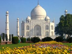 Taj Mahal of Agra is one of the seven wonders of the World. The Taj Mahal, in Agra in northern India.This man was the Mughal Emperor Shah Jahan, who was head-over-heels in love with Mumtaz Mahal, his dear wife....