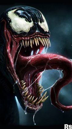 Search free Venom Artwork Ringtones and Wallpapers on Zedge and personalize your phone to suit you. Start your search now and free your phone Venom Comics, Marvel Venom, Marvel Art, Marvel Heroes, Marvel Villains, Deadpool Wallpaper, Marvel Wallpaper, Hd Wallpaper, Venom Pictures