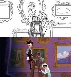 He only gets cuter tho Disney Tangled, Disney Magic, Disney Art, Disney Pixar, Storyboard Drawing, Tangled Series, Cool Anime Guys, Walt Disney Animation Studios, I Saw The Light