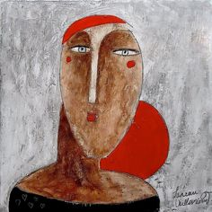 """Philippe Lareau - """"Italian woman with red hair"""""""