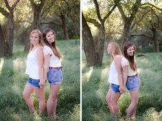 Best Friend Poses http://arianarandlephotography.com/sunshine-springtime-and-best-friends/