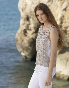 Book Woman Sport 92 Spring / Summer | 64: Woman Top | White / Pearl light grey