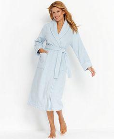 Charter Club Long Luxe Terry Spa Robe Women - Bras f8e4a3eb5