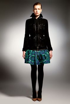 Bally Pre-Fall 2012.  Look 14 - Ophelie Rupp.
