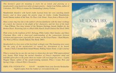 Pre-order MEADOWLARK and Meanwhile, back at teh ranch... http://dawnwink.wordpress.com/2013/07/16/pre-order-meadowlark-and-meanwhile-back-at-the-ranch/
