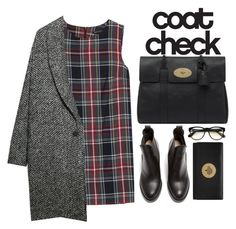 """""""Winter Coat."""" by stevie-g ❤ liked on Polyvore featuring MANGO, Violeta by Mango, Acne Studios, Mulberry and Wildfox"""