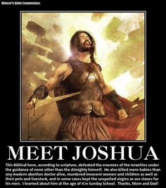 "Witness of Evil God:  Meet Joshua! http://www.pinterest.com/pin/540924605217252355/ ""EACH nation has created a god, and the god has always resembled his creators."" -Ingersoll. http://www.pinterest.com/pin/228135537347785836/ ""The Christian god is a being of terrific character - cruel, vindictive, capricious, and unjust."" -Jefferson > ""Belief in a cruel God makes a cruel man."" - Thomas Paine. http://www.pinterest.com/pin/228135537347736690/ http://www.pinterest.com/pin/540924605217243002/"