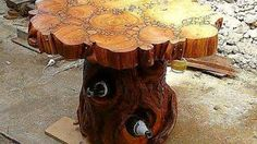Creative Project Ideas Using Wood Slices and Logs - YouTube