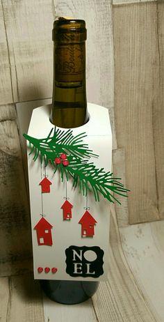 2 Personnalisé Boxing Day Bouteille De Vin étiquette Vinyle Autocollant De Noël Table Cadeau