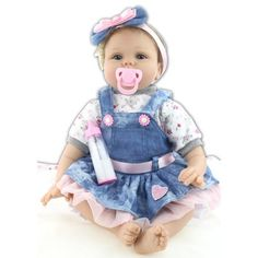Dappre Art Cute Dolls Non-Silicone Mini Decorations Play Swimming Doll for Home Decorations Holiday Birthday Gifts
