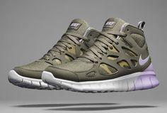 Nike Free Run Mid 2+ SneakerBoot