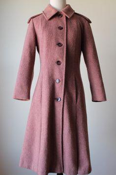 1960s Vintage Coat. $62.00, via Etsy.