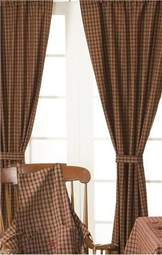 A site to order country curtain panels