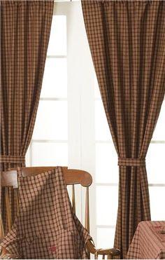 Primitive Prairie Curtain Tutorial | Prim Tutorials | Pinterest ...