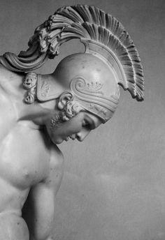 Sculpture, Statue of Achilles. Greek And Roman Mythology, Greek Gods, Trojan War, Art Sculpture, Roman Sculpture, Clay Sculptures, Greek Art, Achilles, Ancient Art