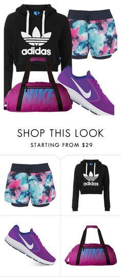Sporty outfit by fashionbabeforever on Polyvore featuring Topshop and NIKE