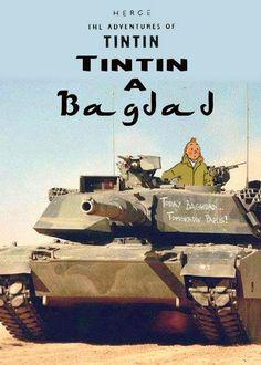 Les Aventures de Tintin - Album Imaginaire - Tintin à Bagdad