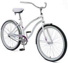 Mantis Dahlia Ladies Cruiser Bicycle - Overstock Shopping - Great Deals on Mantis Bicycles Mountain Bikes For Sale, Mountain Bike Shoes, Cycling Equipment, No Equipment Workout, Cruiser Bicycle, Vintage Style Dresses, Get In Shape, The Ordinary, Fitness Fashion