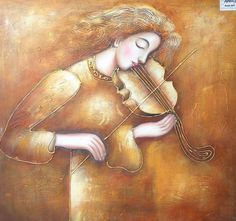 Modrest Woman & Violin Oil Painting VGSHD-ADD0433 Product : 71860 Features…