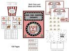 This is a great center and small group activity pack.  I have included both black and white for all the activities.  158 pages (including both b.