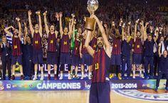 El Barcelona ganó la Liga Endesa