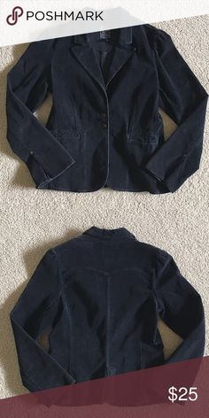 Lucky Brand Corduroy Blazer Black. Long Sleeve. Lucky Brand Jackets & Coats Blazers