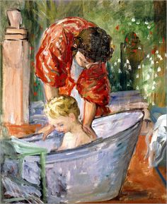 Henri Lebasque - Das Bad (Le Bain).