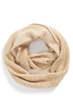 Adore this Kate Spade sequin infinity scarf.