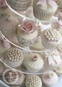 Vintage Cupcakes. Déco à réinventer