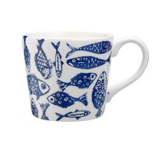 You can't beat navy and white for an instant beachside vibe. The beauty of this mug lies in its simplicity. Priced at £4.