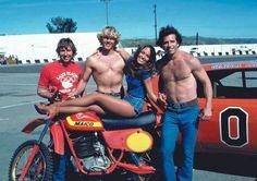 1979- Maico Magnum 250MC with cast of Dukes of Hazzard