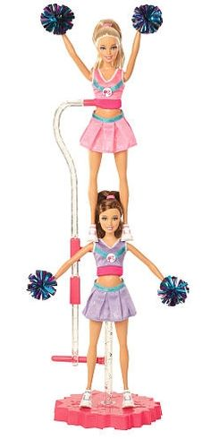Go team! Watch as Barbie and her friend Teresa practice their flips! #BarbiesFavorites