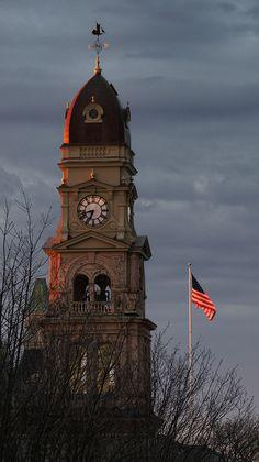 Gloucester City Hall Clock Tower