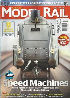 Model Rail train magazine Classic locomotives Painting people Diesel upgrade