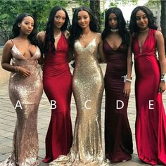 Bridesmaid Dress Mermaid, Bridesmaid Dress Unique, Custom Bridesmaid Dress, Bridesmaid Dress For Cheap Bridesmaid Dresses 2018 Cheap Long Dresses, Formal Dresses, Wedding Dresses, Gold Prom Dresses, Long Prom Gowns, Dresses Dresses, Lovely Dresses, Mermaid Bridesmaid Dresses, Gold Mermaid Prom Dresses
