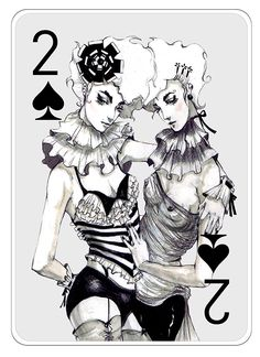 Fashion Playing Cards Part 2 on Behance