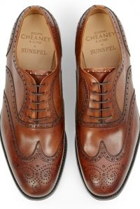 Shoe porn: Sunspel X Joseph Cheaney & Sons