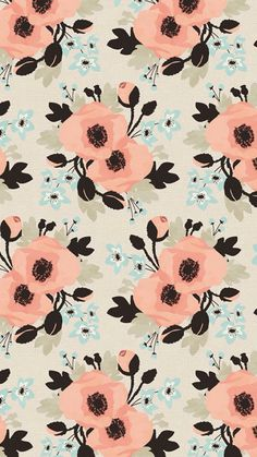 pattern free ipad wallpaper free iphone wallpaper floral flowers illustration
