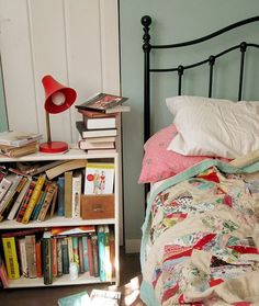snuggle in and read...a perfect bedroom!