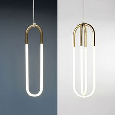 "Rudi by Lukas/Peet ""With all exposed light bulb design trend that's re-emerging, this pendant light has my vote,"" says art director Anton Pietersen. ""It comes in three versions from single to double loop and different size variations."""