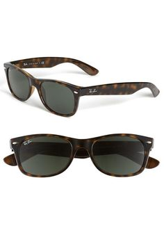 6c300a2835c7 Ray-Ban New Small Wayfarer Sunglasses (Nordstrom Exclusive Colors) Dark  Tortoise One Size