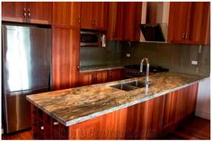 Fusion Kitchen Countertop, Fusion Granite Kitchen Countertops