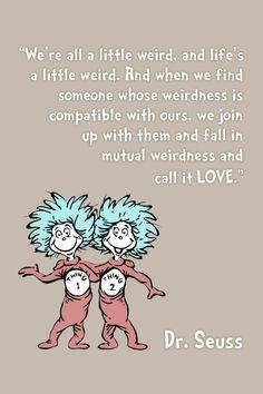 Framed Quote Art - Dr. Seuss