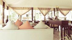 Sofitel Luang Prabang tented restaurant by Escape Nomade