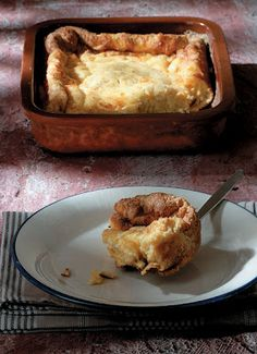 Greek Zymaropita - Easy crustless cheese and eggs pie